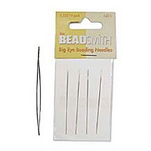 Big Eye Beading Needles - Pack of 4
